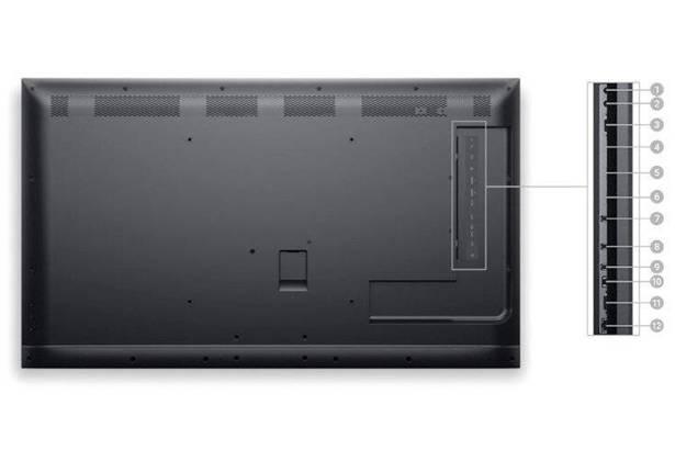 """DELL C5519Q 55"""" 3840x2160 LED UHD 4K HDMI DISPLAYPORT USB 3.0"""