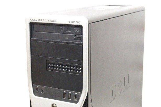 DELL T3500 XEON W3530 4x2.8GHz 8GB 240GB SSD NVS DVD WIN 10 HOME