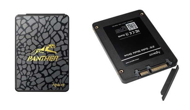 "DYSK SSD APACER PANTHER AS340 960GB 2,5"" TLC"