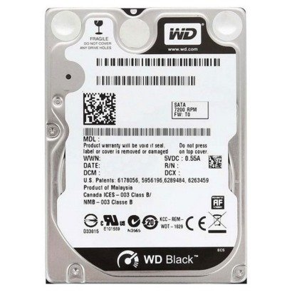 """DYSK TWARDY WD BLACK 2,5"""" 320GB SATA"""