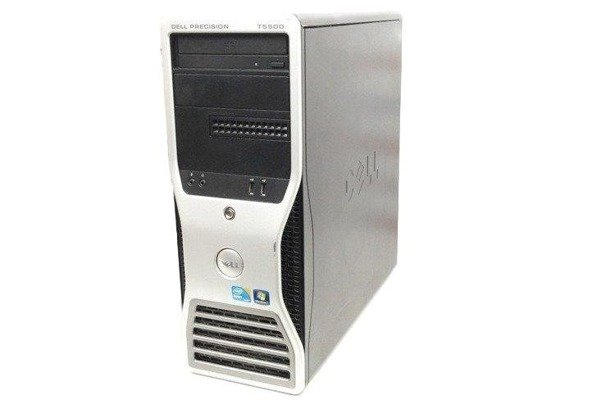 Dell Precision T5500 2xE5607 4x2.26GHz 8GB 240GB SSD DVD NVS Windows 10 Professional PL