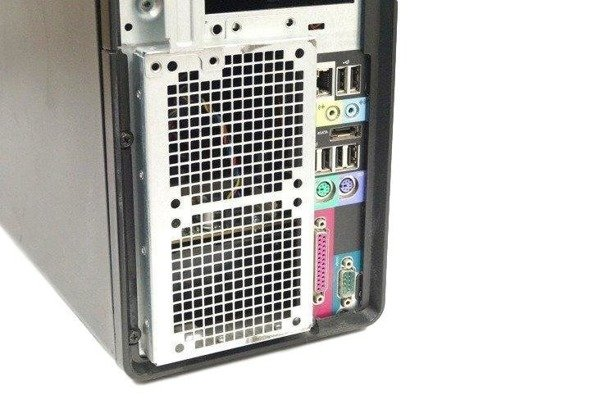 Dell Precision T5500 E5503 2x2.0GHz 8GB 500GB DVD NVS Windows 10 Professional PL