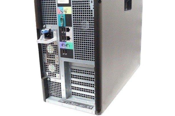Dell Precision T7600 E5-2687W 8x3.1GHz 32GB 500GB+480SSD NVS