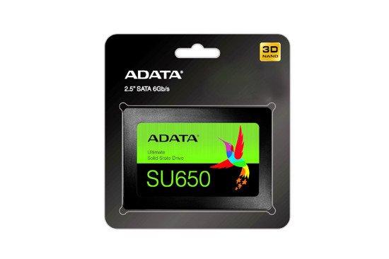 Dysk SSD ADATA Ultimate SU650 240GB 2.5'' SATA