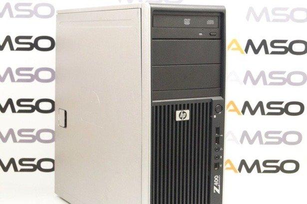 HP WorkStation Z400 W3520 4x2.66GHz 6GB 120GB SSD DVD NVS