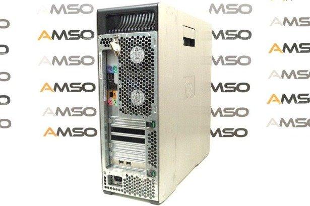 HP WorkStation Z600 E5620 4x2.4GHz 12GB 480GB SSD NVS DVD