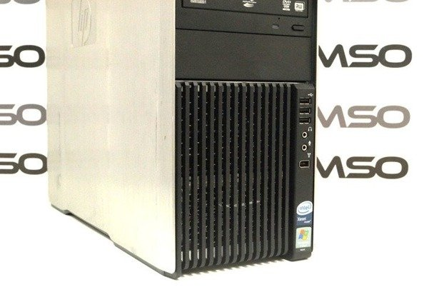 HP WorkStation Z600 E5620 4x2.4GHz 8GB 240GB SSD NVS DVD Windows 10 Professional PL
