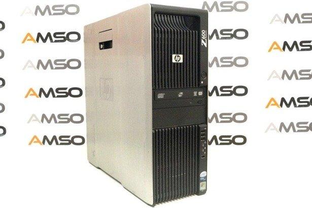 HP WorkStation Z600 E5620 4x2.4GHz 8GB 480GB SSD NVS DVD Windows 10 Professional PL