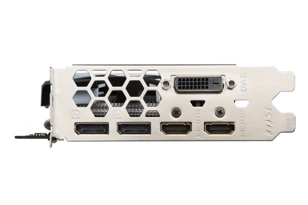 MSI Radeon RX 580 ARMOR OC 8GB GDDR5 HDMI DP