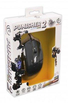 Mysz przewodowa PUNISHER 2 optyczna Gaming USB