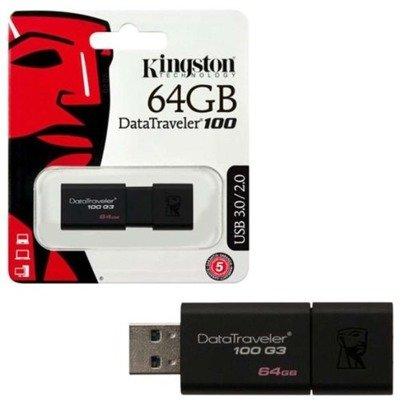 Pendrive Kingston DataTraveler 100 G3 64GB USB 3.0